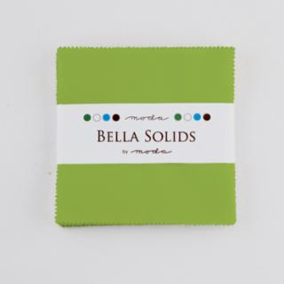 Solids Charm Pack - Bella Solids Fresh Grass 9900 228