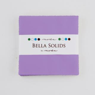 Solids Charm Pack - Bella Solids Hyacinth 9900 93