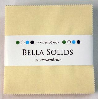 Solids Charm Pack - Bella Solids Neutral 9900 21
