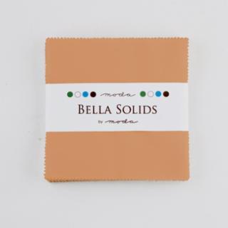 Solids Charm Pack - Bella Solids Ochre 9900 79