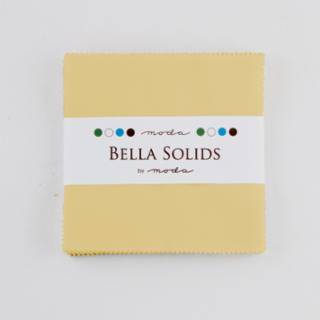 Solids Charm Pack - Bella Solids Parchment 9900 39