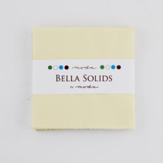Solids Charm Pack - Bella Solids Porcelain 9900 182
