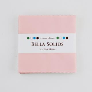 Solids Charm Pack - Bella Solids Sisters Pink 9900 145