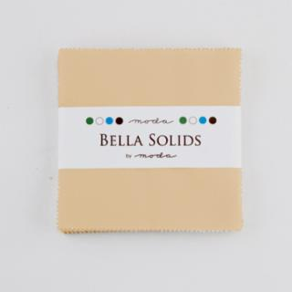 Solids Charm Pack - Bella Solids Tan 9900 13