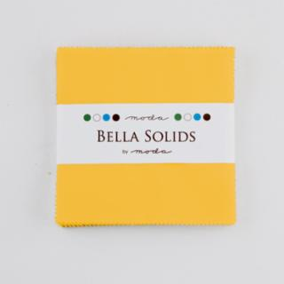 Solids Charm Pack - Bella Solids Yellow 9900 24S