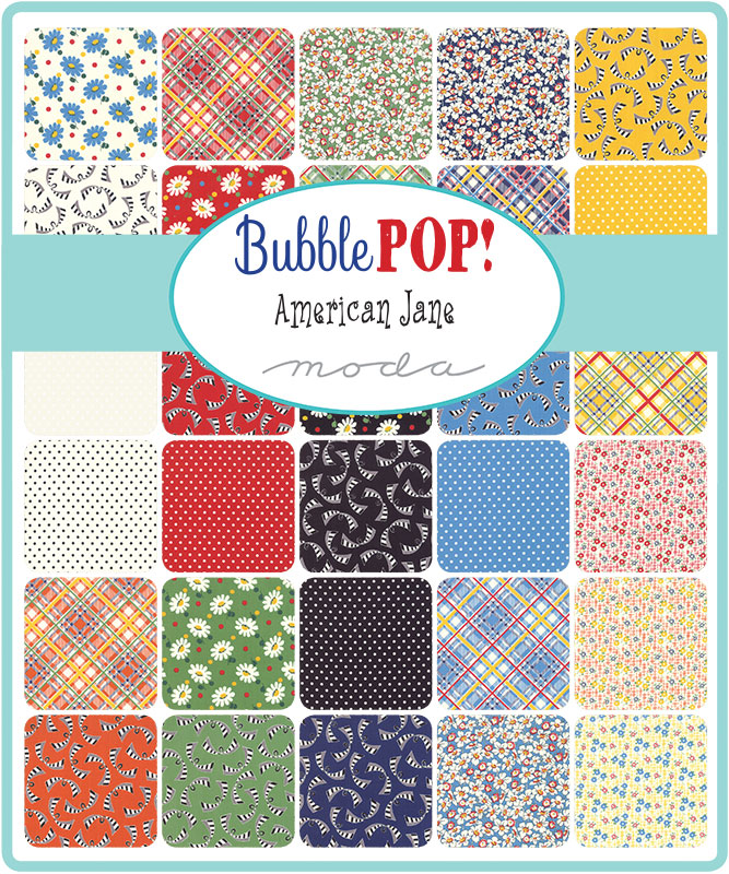 Moda Fat Quarter Bundle - Bubble Pop by American Jane