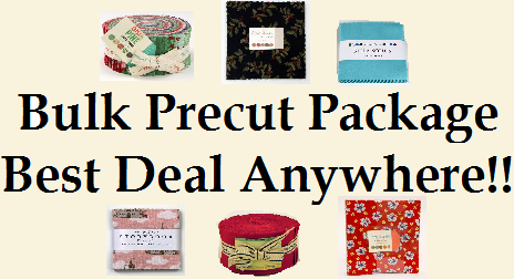 The Precut Bulk Package - Best Deal On The Internet!!