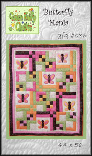 Butterfly Mania Quilt Pattern