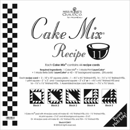 Cake Mix Recipe Number 11