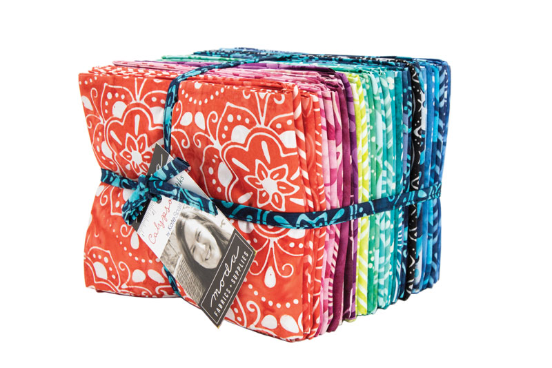Moda Fat Quarter Bundle - Calypso Batiks by Kate Spain