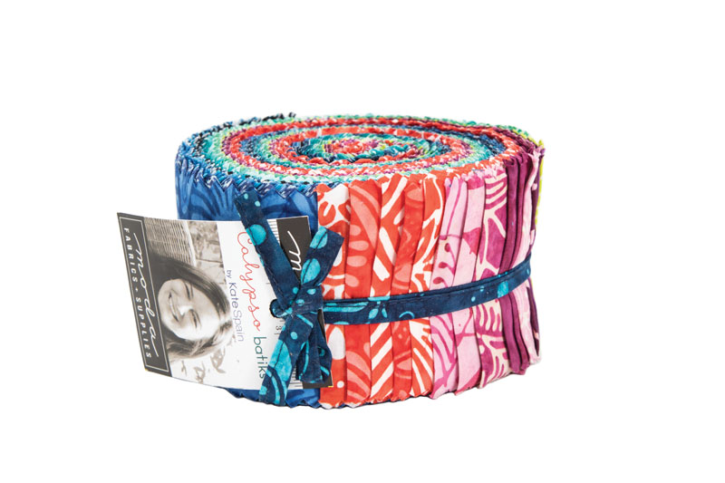 Moda Jelly Roll - Calypso Batiks by Kate Spain