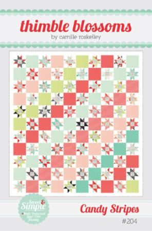 Candy Stripes Pattern by Thimble Blossoms