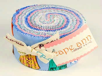Moda Jelly Roll - Cape Ann by Liesl Gibson