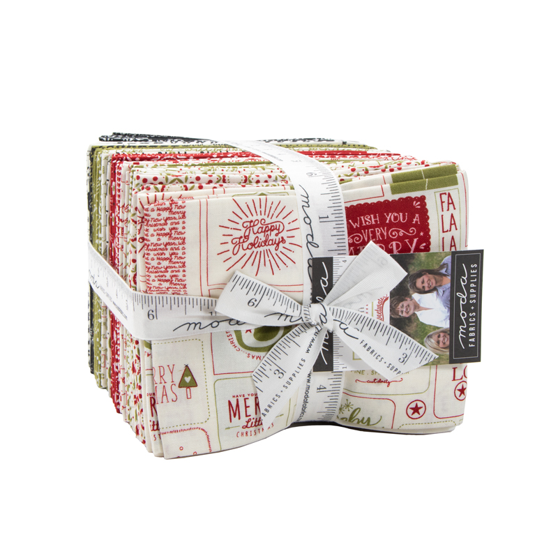 Moda Fat Quarter Bundle - The Christmas Card by Sweetwater