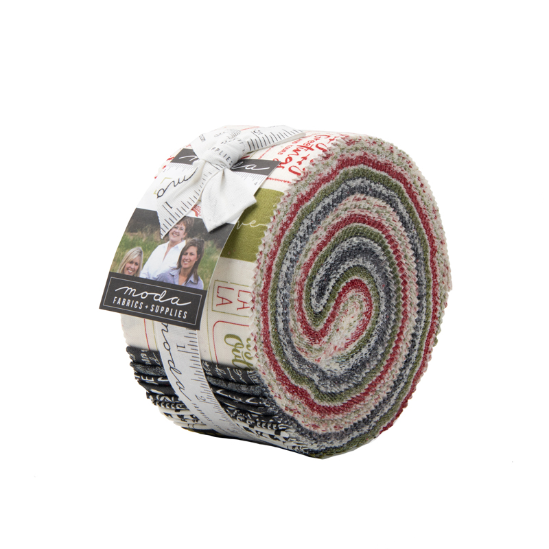 Moda Jelly Roll - The Christmas Card by Sweetwater