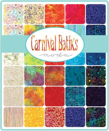 August/18 - Carnival Batiks Fat Eighth Bundle