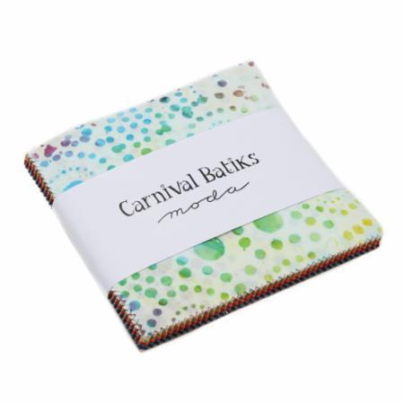 Moda Charm Pack - Carnival Batiks by Moda