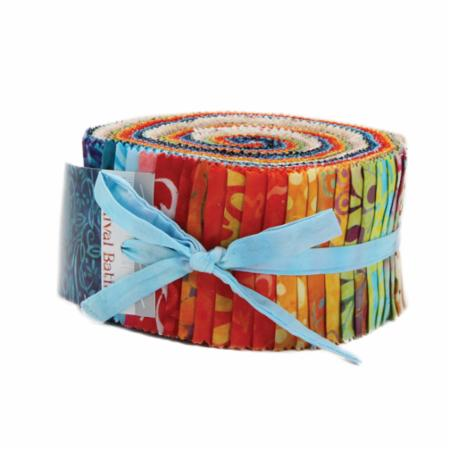 Moda Jelly Roll - Carnival Batiks by Moda