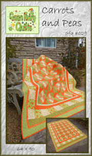 Carrots and Peas Quilt Pattern