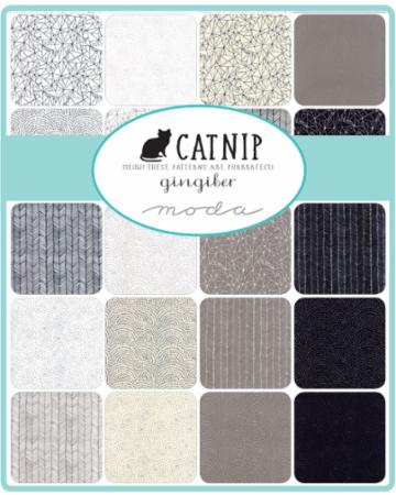 Moda Charm Pack - Catnip by Gingiber