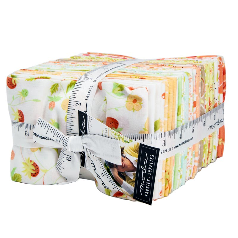 Moda Fat Eighth Bundle - Chantilly by Fig Tree & Co