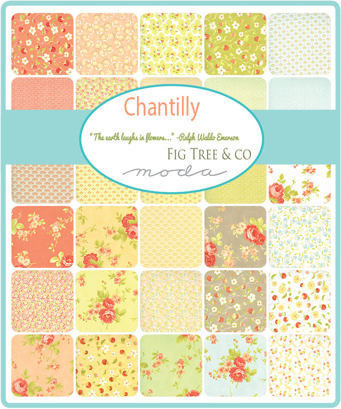 March/19 - Chantilly Charm Pack
