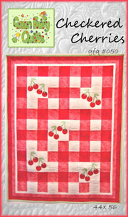 Checkered Cherries Quilt Pattern