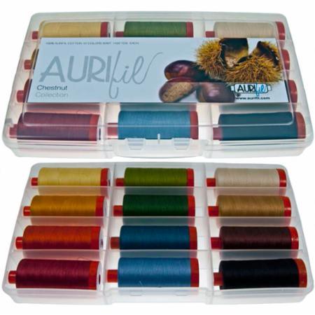 Chestnut Collection 50wt Aurifil