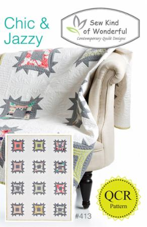 Chic & Jazzy Pattern by Sew Kind Of Wonderful