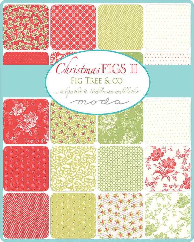 May/20 - Christmas Figs II Charm Pack