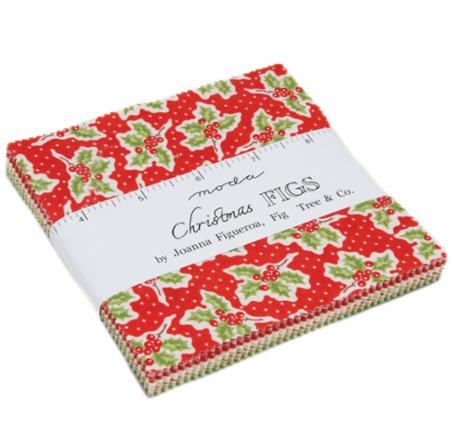 Moda Charm Pack - Christmas Figs by Fig Tree Quilts