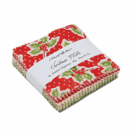 Moda MINI Charm - Christmas Figs by Fig Tree Quilts