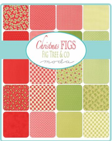 Moda Jelly Roll - Christmas Figs by Fig Tree Quilts
