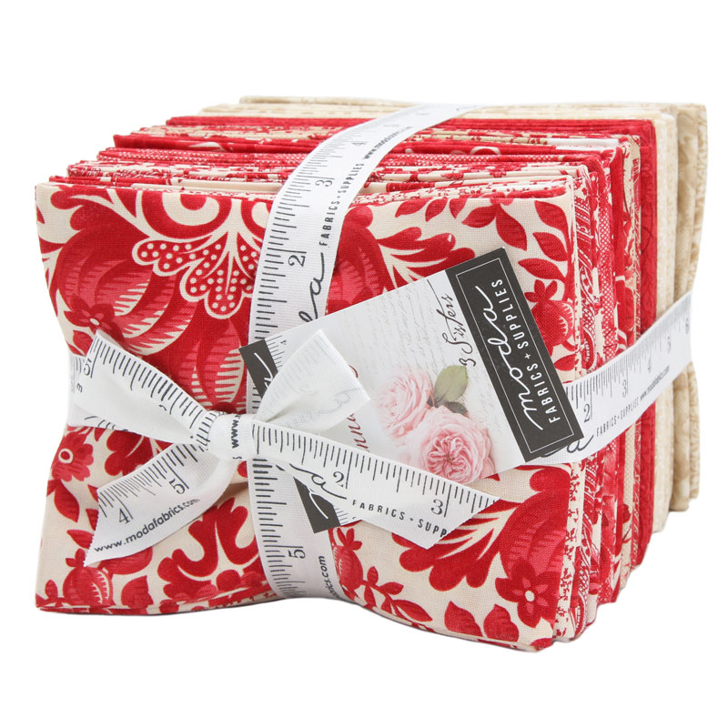 Moda Fat Quarter Bundle - Cinnaberry by 3 Sisters
