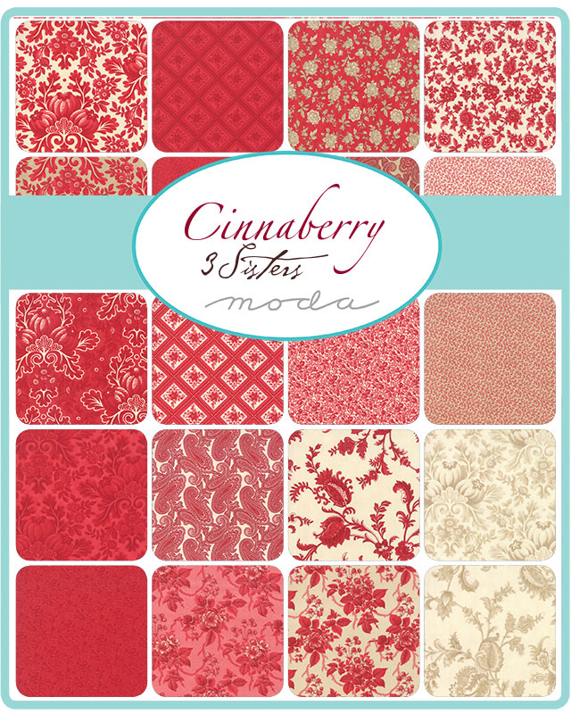 May/19 - Cinnaberry Charm Pack