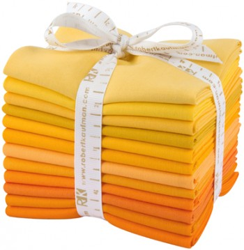 Robert Kaufman Fat Quarter Bundle - Citrus Burst