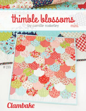 Clambake Mini Pattern by Camille Roskelley