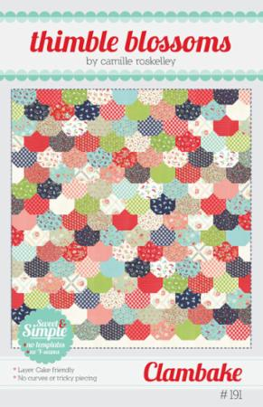 Clambake Pattern by Camille Roskelley