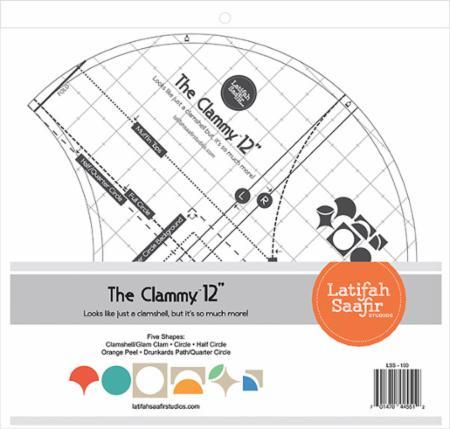 Clammy 12 Inch Ruler
