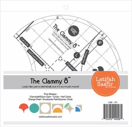 Clammy 8 Inch Ruler