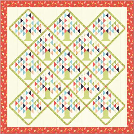 August/18 - Clover Hollow Quilt Kit
