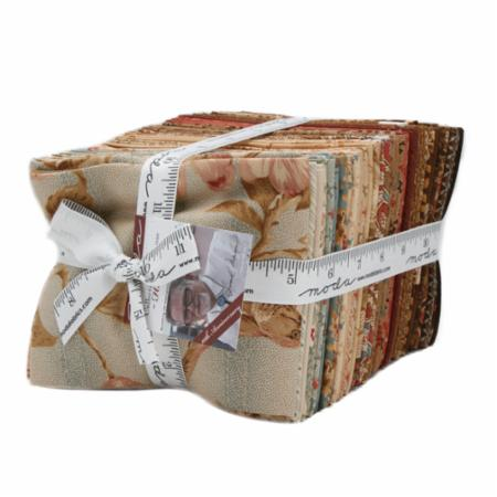 Moda Fat Quarter Bundle - Collection For A Cause Heritage 10th Anniversary by Howard Marcus