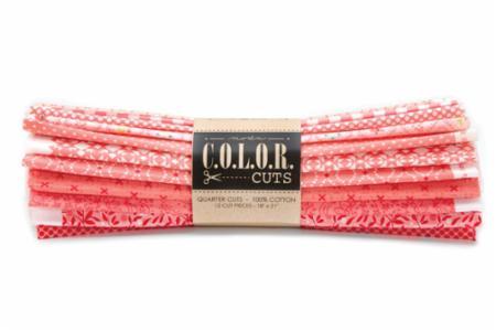 Moda Fat Quarter Bundle - Color Cuts Daybreak