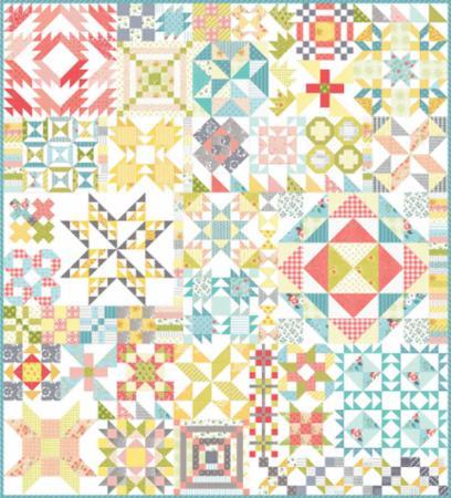 April/18 - Color Cuts Quilt Kit
