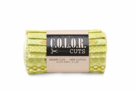 Moda Dessert Roll - Color Cuts Sprouts