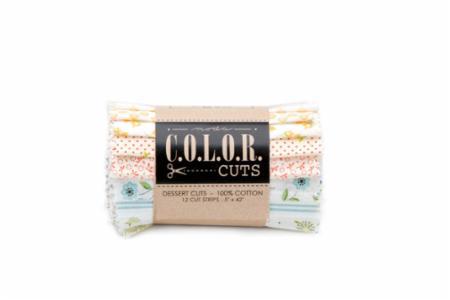 April/18 - Color Cuts Sugar On Top Dessert Roll