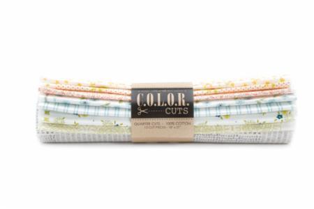 Moda Fat Quarter Bundle - Color Cuts Sugar On Top