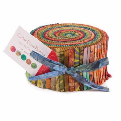 Moda Jelly Roll - Color Daze BATIKS by Laundry Basket Quilts