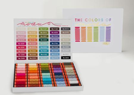 Colors Of Moda Aurifil Thread Box