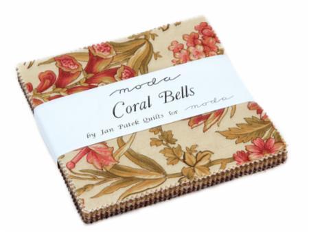 Moda Charm Pack - Coral Bells by Jan Patek